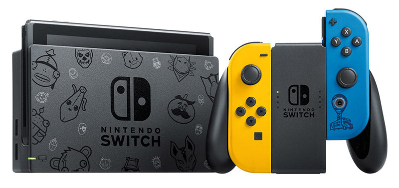 Switch Console 1.1 Blu/Giallo Special Edition + Fortnite