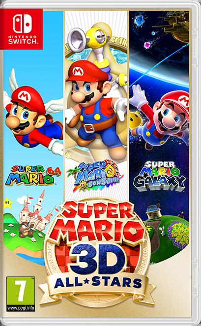 Switch Super Mario 3D All Star