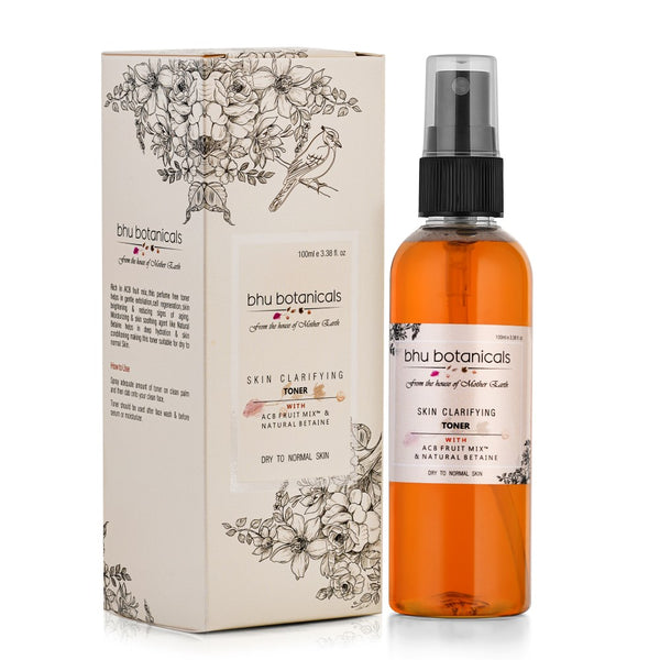 Skin Clarifying Toner - Dry to Normal Skin (With ACB Fruit Mix™ &  Natural Betaine) 100ml