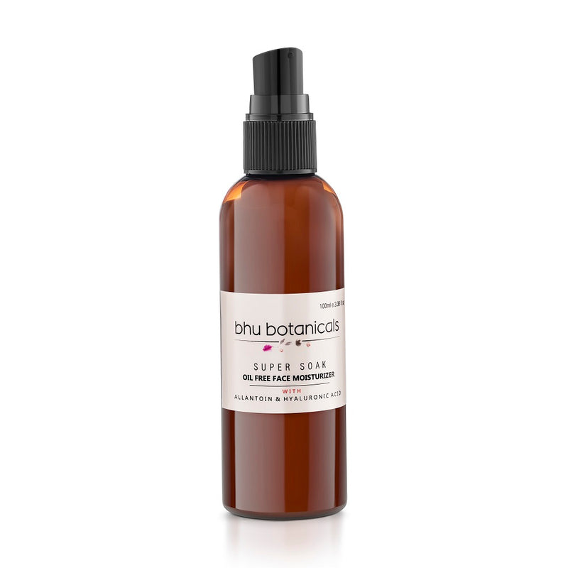 Super Soak - Oil Free Face Moisturizer (with Allantoin & Hyaluronic Acid) 100ml