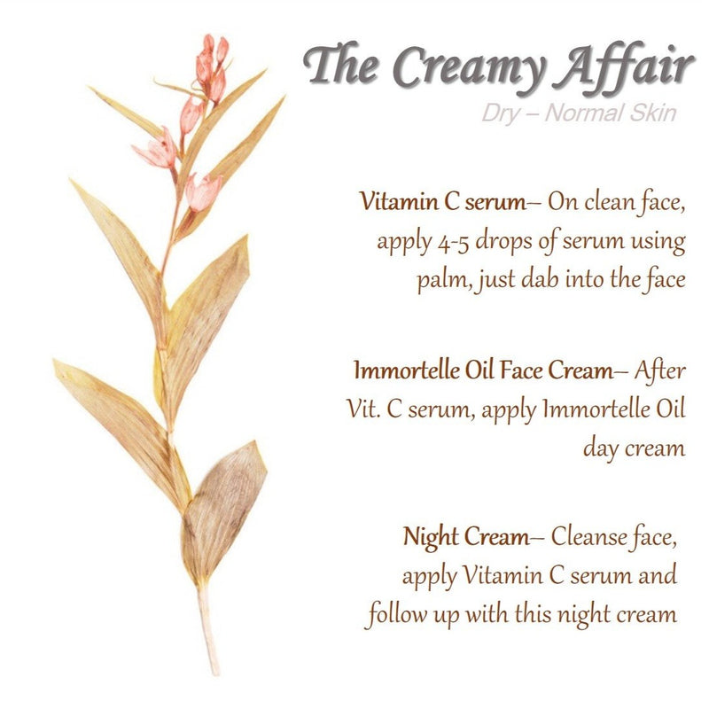 The Creamy Affair - Dry to Normal Skin