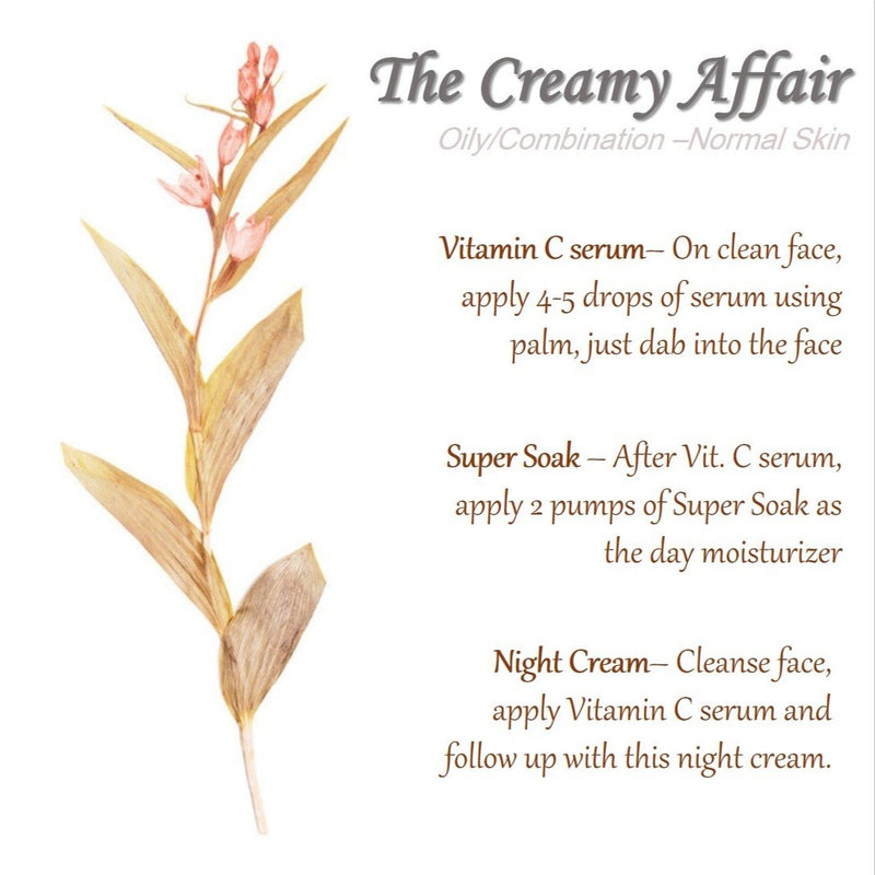 The Creamy Affair - Oily/ Combination to Normal Skin