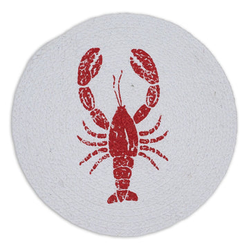 Lobster Print Braided Placemat
