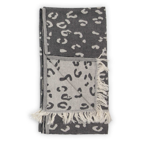 Pokoloko Leopard Print Turkish Towel