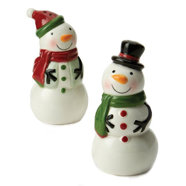 Snowman Salt and Pepper Shakers