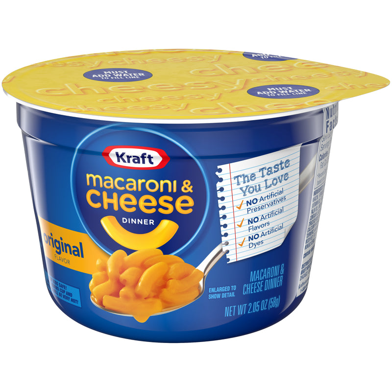 Kraft Original Macaroni & Cheese Dinner Cup