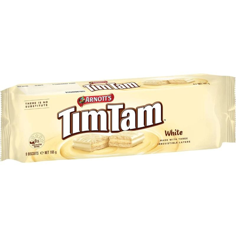 Arnott's Tim Tam White Chocolate Biscuit