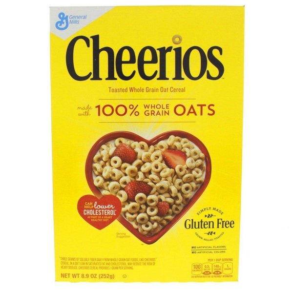 GENERAL MILLS CHEERIOS 100% Whole Grain Oats