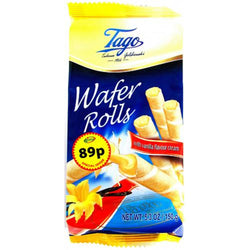 Tago Wafer Rolls Vanilla Cream