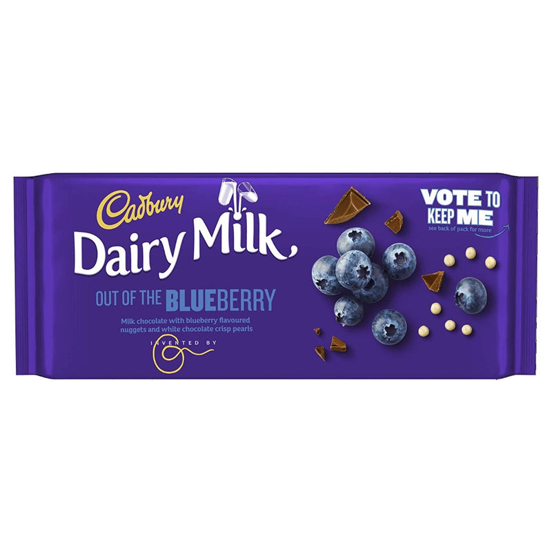 Cadbury Dairy Milk Out of the Blueberry Chocolate