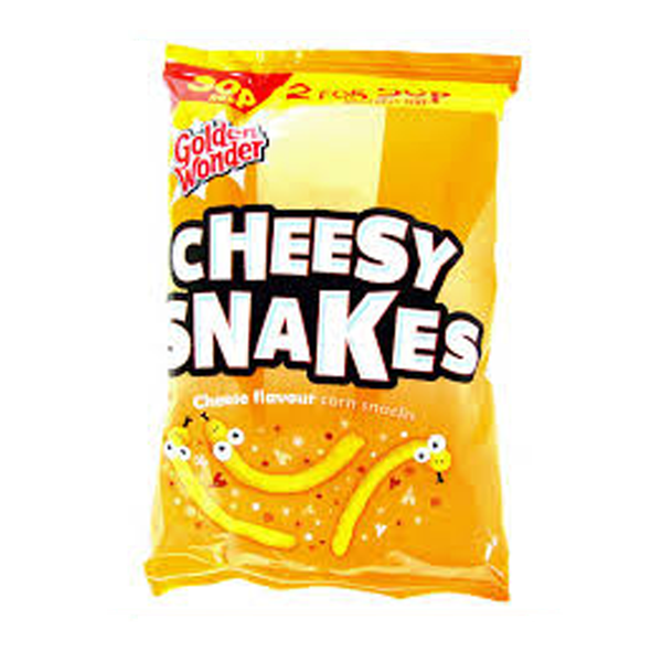 Golden Wonder Cheesy Snakes