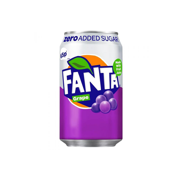 Coca Cola Fanta Grape Zero
