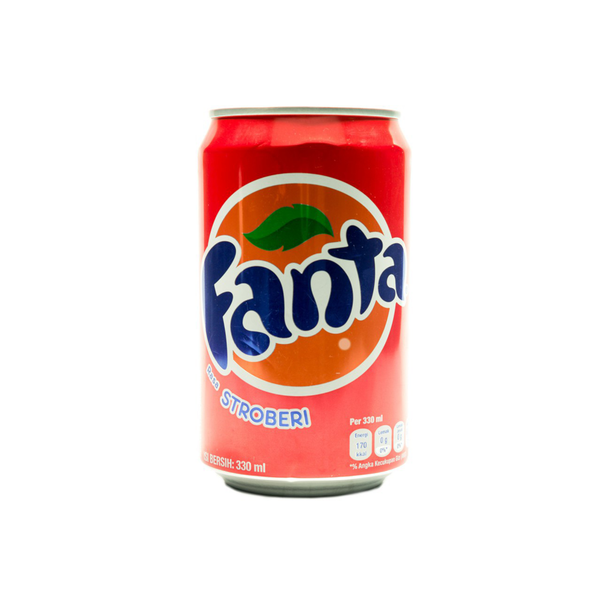 Coca Cola Fanta Strawberry