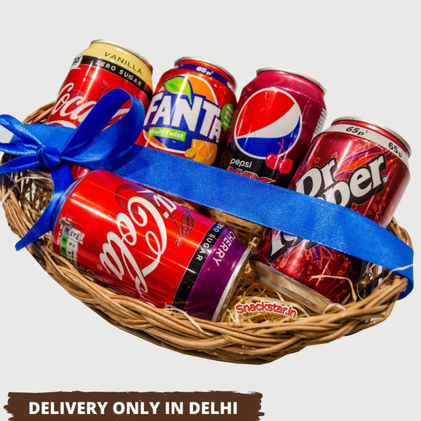 Gift Hamper Drinks Basket