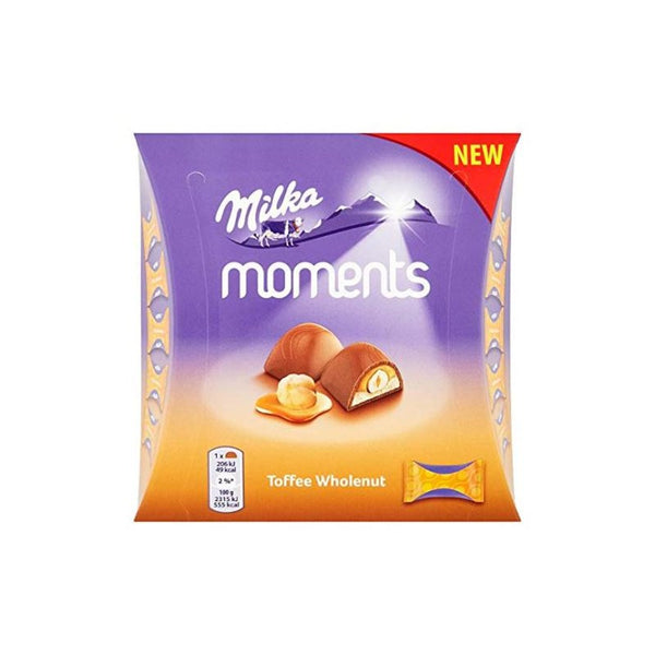 Milka Moments Toffee Wholenut