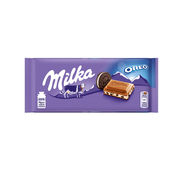 Milka Oreo Chocolate Bar