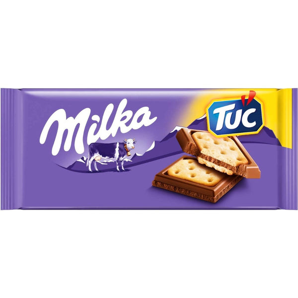 Milka Chocolate Tuc Cracker (87g)