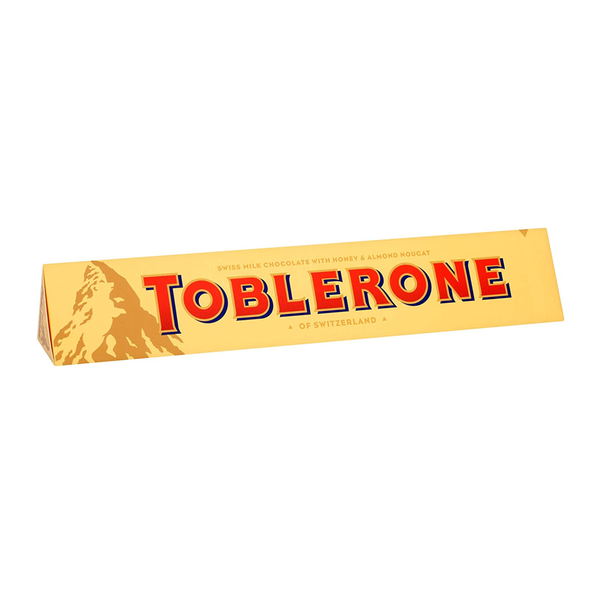 Toblerone Swiss Milk Chocolate Bar (Original)