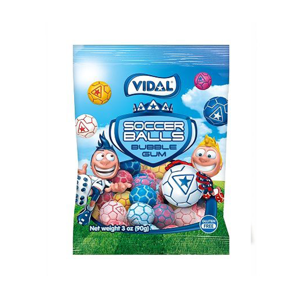 Vidal Football Bubble Gum Bag