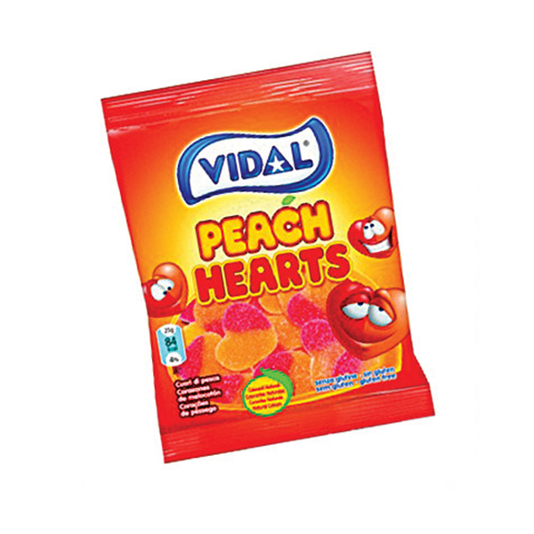Vidal Peach Hearts Bag