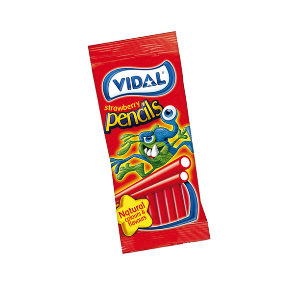 Vidal Strawberry Pencils Bag
