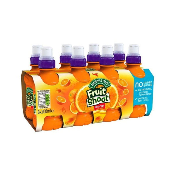 Fruit Shoot Orange 8pack
