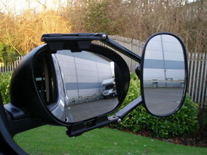 MGI Steady XL Towing Mirror Flat - Twin Pack-Tamworth Camping