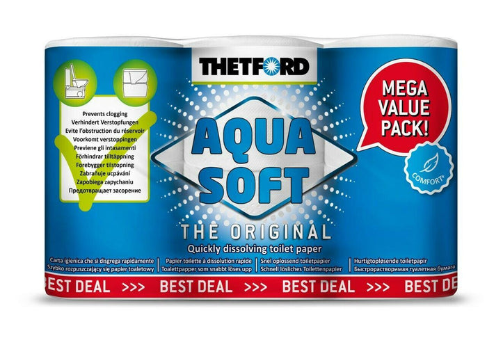 Thetford Aquasoft Toilet Tissue 40 Roll Pack