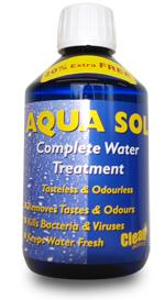 Aqua Sol Complete Water Treatment 300ml Bottle - treats up to 625L-Tamworth Camping