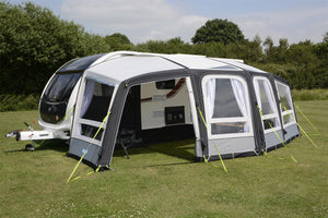 Kampa Frontier Air Pro 300 Inflatable Caravan Awning 2020-Tamworth Camping