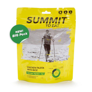 Summit to Eat Chicken Fajita with Rice BIG PACK-Tamworth Camping