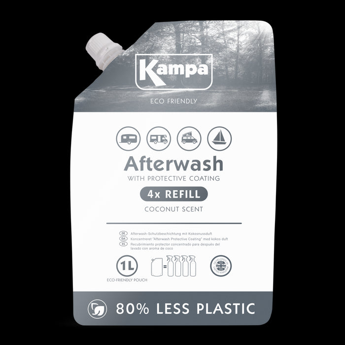 Kampa Eco Friendly Afterwash Protective Coating 1L Refill Pouch