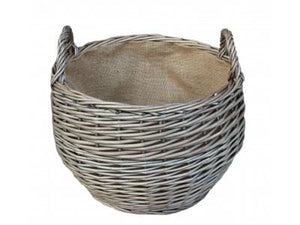 Vanilla Leisure Small Antique Wash Stumpy Basket-Tamworth Camping