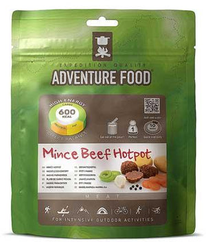 Adventure Food Mince Beef Hotpot - 1 Person Serving-Tamworth Camping