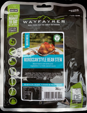 Wayfayrer Moroccan Style Bean Stew-Tamworth Camping