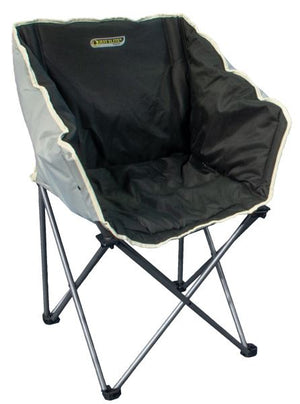 Quest Autograph Kent Chair in black and grey-Tamworth Camping