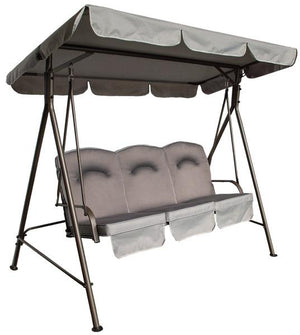 Quest Naples Pro Garden Swing 3 person-Tamworth Camping