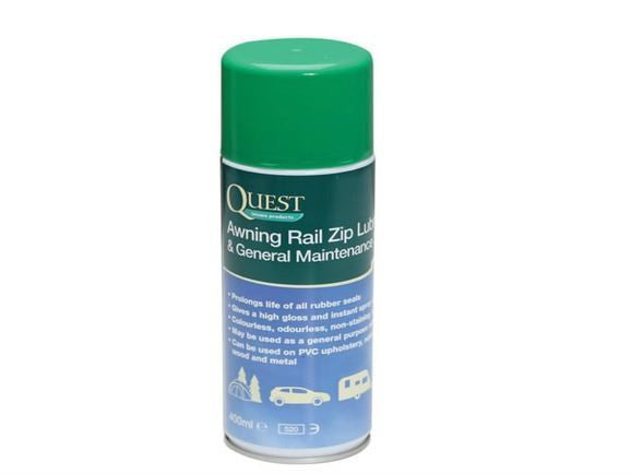 Quest Awning Rail Zip Lubricant & General Maintenance Spray