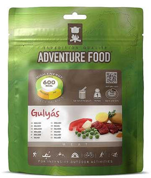 Adventure Food Gulyas (Goulash) - Potato Stew with Beef - 1 Person Serving-Tamworth Camping
