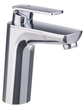 Reich Mixer faucet Keramik Vector E5, UniQuick pipe 25cm plus push fit (Chrome)
