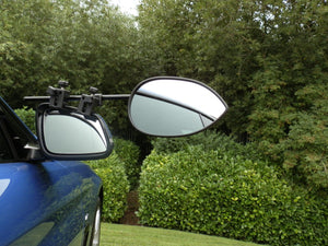 Milenco Aero 3 Towing Mirror Twin Pack Flat with Carry Case-Tamworth Camping