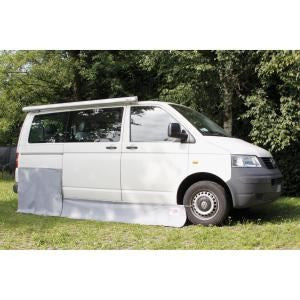 Fiamma Mud Flap Draught Skirt VW T5-Tamworth Camping