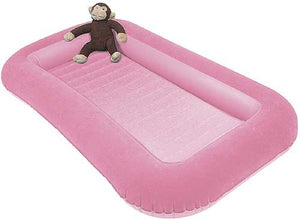 Kampa Pink Junior Bumper Airlock Air Bed for Kids-Tamworth Camping