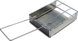 Kampa Crust Folding Camping Stainless Steel Toaster CW0052-Tamworth Camping