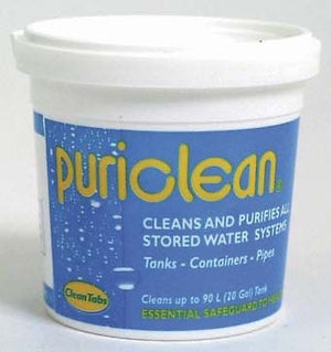 Puriclean Water Purifier 100g-Tamworth Camping