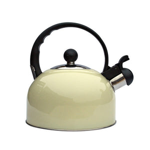 Quest Cream 2.2 litre Kettle-Tamworth Camping