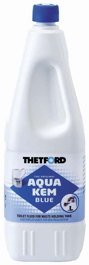 Thetford Aqua Kem Blue 2L Caravan Chemical Toilet Fluid-Tamworth Camping