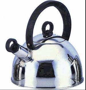 Quest 2Ltr Stainless Steel Whistling Kettle-Tamworth Camping