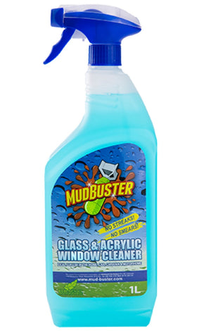 Mudbuster Glass Cleaner 1L-Tamworth Camping