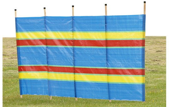 Quest 5 Pole Multicoloured Windbreak